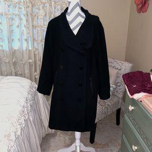 Harve Benard light weight pea coat 3X